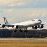 Airbus A340-600 / D-AIHP / Lufthansa / MUC