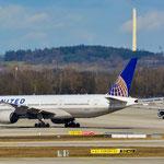 Boeing 777-200 (ER) / N792UE / United Airlines / MUC