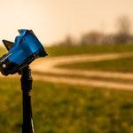 ...Blick zur Sonne....Camcorder mir selbst gebastelten Filter...