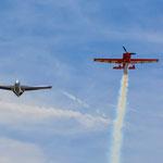 Rückkehr nach Manching mit zwei Überflügen