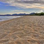 Costa Rei - Der unendliche Sandstrand am Abend