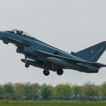 """Die """"normalen"""" Eurofighter-Starts sind ehr unspektakulär"""