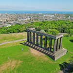 Blick über Edinburgh vom Calton Hill