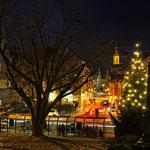 Neuburg an der Donau - Luitpoldstraße im Advent