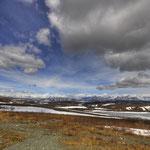 Denali Highway - Geiler Blick auf die Landschaft