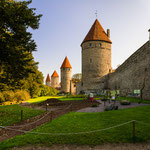 Die historische Stadtmauer am Platz der Türme