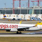 TC-AIS Boeing 737-82R Pegasus Airlines