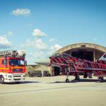 """...die Feuerwehr Rendsburg nutze die Gelegenheit für ein Bild mit dem """"Bronze Tiger"""""""