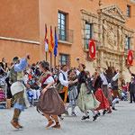 Zu Ehren der Schutzpatronin der Stadt, Virgen de Belén, feiert man Anfang Mai ein große Fiesta