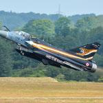 Mirage 2000 aus Frankreich lässt es beim Start krachen - 20.06.2014