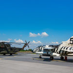 """Tiger""-Tornado und CH-53 im Static Display"