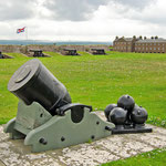 Fort George, eine beeindruckende Befestigungsanlage