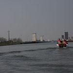 in Höhe Trogbrücke