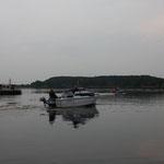 wieder auf dem Niegripper See