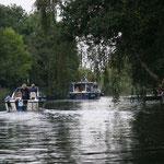 im Niegripper Altkanal in Richtung Hafen TuS Empor Burg