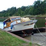 Slipanlage am Elbe-Havel-Kanal