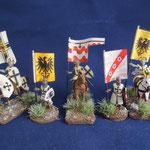 Teutonische Fahnenträger