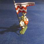 Teutonischer Fahnenträger