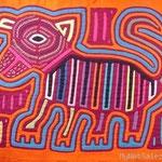 Molo-Stickerei (indigen,neu)