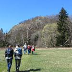Unsere Gruppe kurz vor dem Aufstieg zum Gipfel.