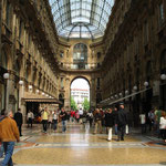 Das berühmte, sehr dekorative Einkaufzentrum am Mailänder Dom.