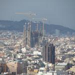 An der Sagrada Familia wird seit über einem Jahrhundert gebaut.