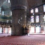 Innenraum-Impression (blaue Moschee).
