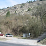 Parkplatz der Hütte