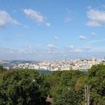 """Die """"Neustadt"""" am goldenen Horn im europäischen Istanbul."""