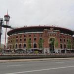 Die frühere Arena von Barcelona am Placa Espanya ist heute ein Einkaufszentrum.