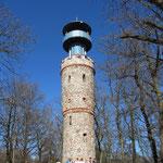 Der Turm auf dem Hahnenkamm.