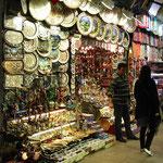 Ein repräsentativer Verkaufsstand im Großen Bazar.