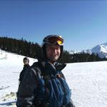 So sieht ein rundum glücklicher und zufriedener Skifahrer aus (Foto: Dr. W. Dieterich).