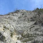 Der Lenzsteig zum Edelweiß (alternativer Bergweg zur Umgehung des Steigsvorhanden)