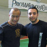 Io e Guro Dan Inosanto