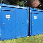 Sanitär- und Duschcontainer | Außenansicht