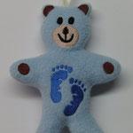 Babybär rosa oder blau 9,90 €