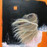 POSTERIORE / 555 - Acryl/Öl auf Leinwand - 80 x 80 cm - 2019