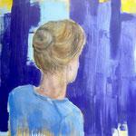POSTERIORE  / 111 - Acryl auf Leinwand - 80 x 80 cm - 2018