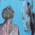 POSTERIORE / 44 - Acryl/Öl auf Leinwand - 80 x 80 cm - 2017