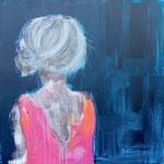 POSTERIORE / 22 - Acryl/Öl auf Leinwand - 80 x 80 cm - 2017
