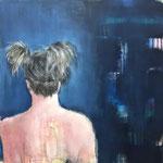 POSTERIORE / 77 - Acryl/Öl auf Leinwand - 80 x 80 cm - 2018