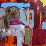 POSTERIORE / 333 - Acryl/Öl auf Leinwand - 80 x 80 cm - 2019