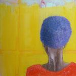 POSTERIORE / 99 - Acryl/Öl auf Leinwand - 80 x 80 cm - 2018