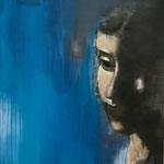 OHNE TITEL / 17 - Acryl/Öl auf Leinwand - 80 x 80 cm - 2017