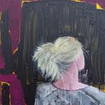 POSTERIORE  / 66 - Acryl auf Leinwand - 80 x 80 cm - 2018