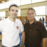 Le président de la SMP et Mr Bouchereau