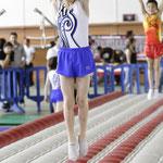 Entraînement de gymnastique artistique...