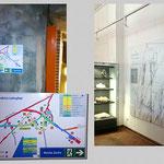 Bergakademie Freiberg - Lehr- und Forschungsbergwerk | Schautafeln, Hinweisschilder