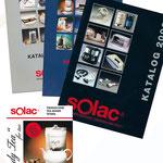 Solac GmbH | Kataloge, Produktbeschreibungen, Verpackungen